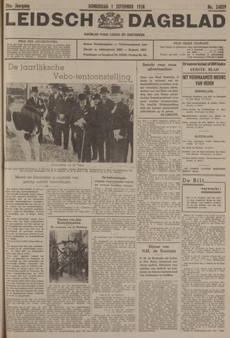 Leidsch Dagblad 1938-09-01