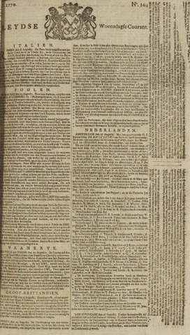 Leydse Courant 1770-08-29