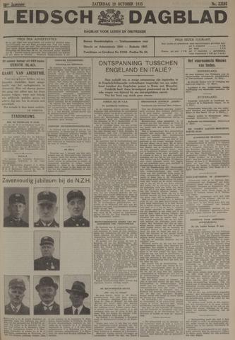 Leidsch Dagblad 1935-10-19