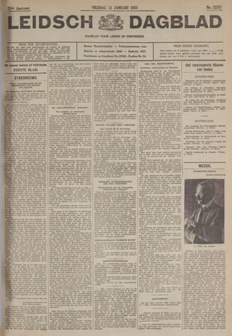 Leidsch Dagblad 1933-01-13