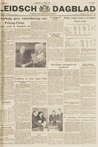Leidsch Dagblad 1954-04-13