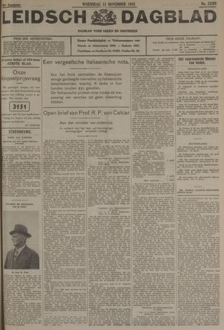 Leidsch Dagblad 1935-11-13