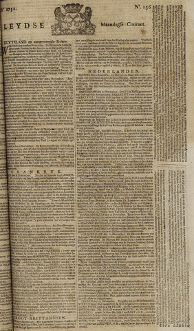 Leydse Courant 1752-11-13