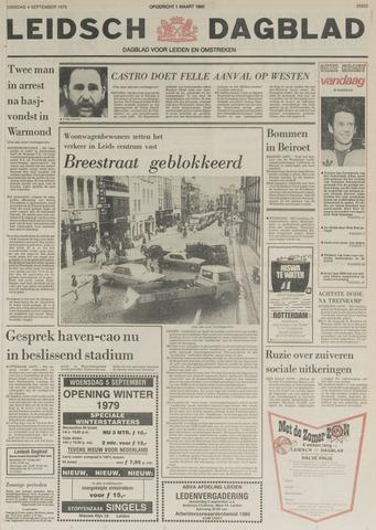 Leidsch Dagblad 1979-09-04