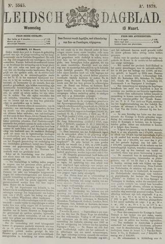 Leidsch Dagblad 1878-03-13