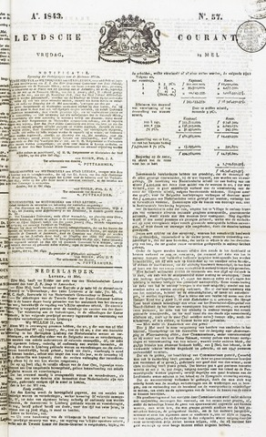 Leydse Courant 1843-05-12