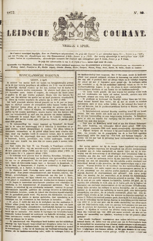 Leydse Courant 1873-04-04