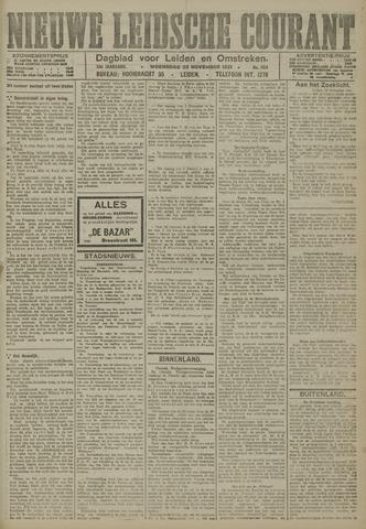 Nieuwe Leidsche Courant 1921-11-23