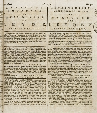 Leydse Courant 1812-07-27
