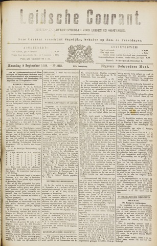 Leydse Courant 1889-09-09
