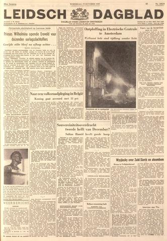 Leidsch Dagblad 1949-10-19