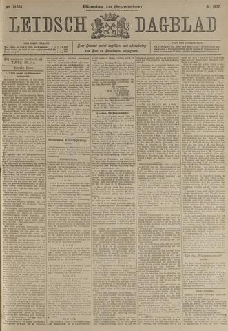 Leidsch Dagblad 1907-09-10