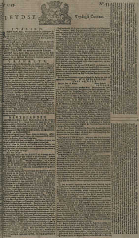 Leydse Courant 1749-05-02