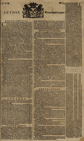 Leydse Courant 1779-07-14