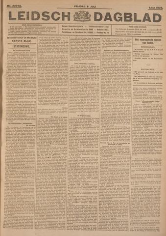 Leidsch Dagblad 1926-07-09