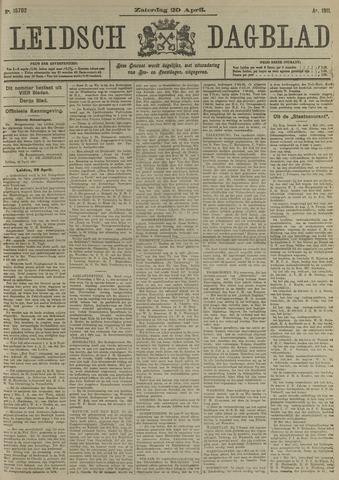 Leidsch Dagblad 1911-04-29