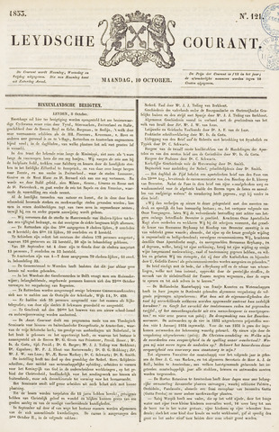 Leydse Courant 1853-10-10