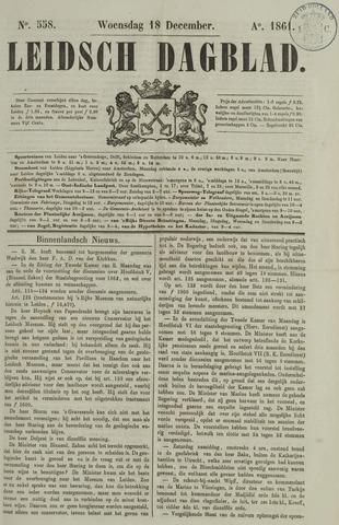 Leidsch Dagblad 1861-12-18