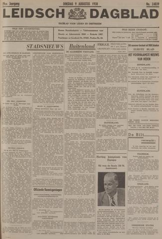Leidsch Dagblad 1938-08-09