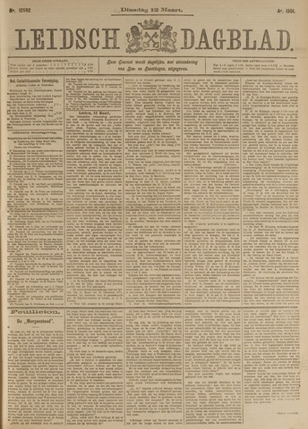 Leidsch Dagblad 1901-03-12