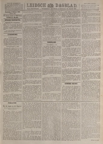 Leidsch Dagblad 1920-02-05