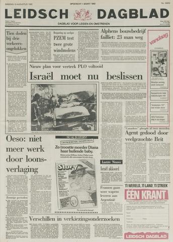 Leidsch Dagblad 1982-08-10