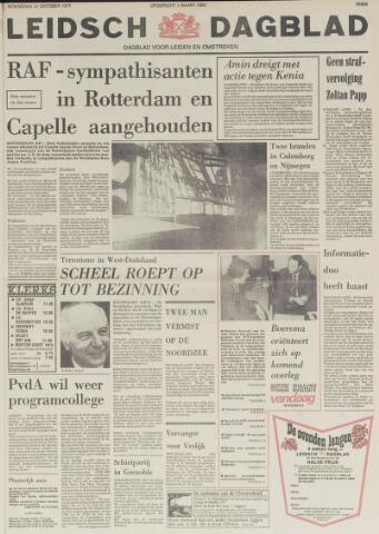 Leidsch Dagblad 1977-10-12