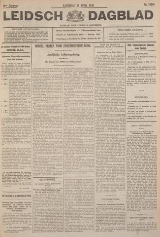 Leidsch Dagblad 1930-04-26