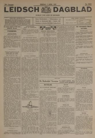 Leidsch Dagblad 1935-04-02