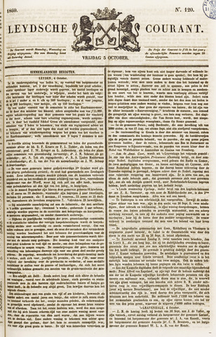Leydse Courant 1860-10-05