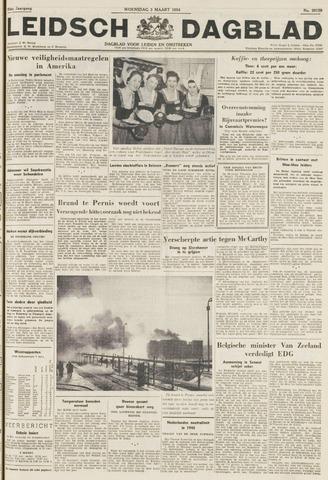 Leidsch Dagblad 1954-03-03