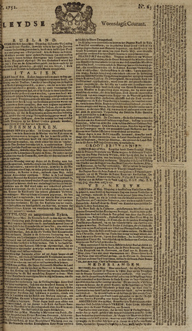 Leydse Courant 1752-05-31