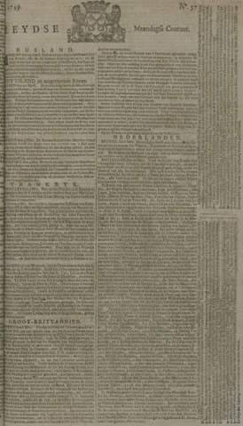 Leydse Courant 1749-05-12