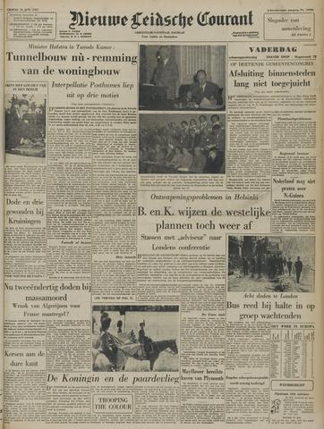 Nieuwe Leidsche Courant 1957-06-14