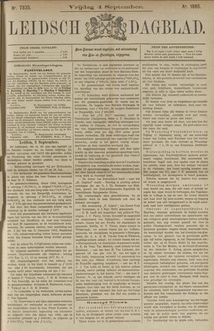 Leidsch Dagblad 1885-09-04