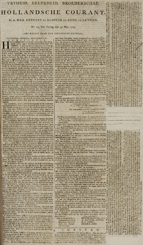 Leydse Courant 1795-05-15