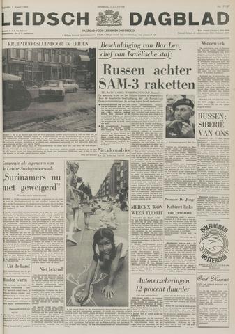 Leidsch Dagblad 1970-07-07