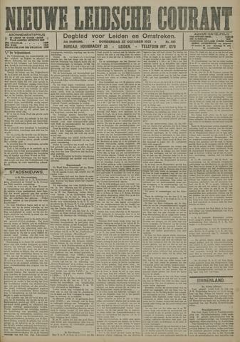 Nieuwe Leidsche Courant 1921-10-27
