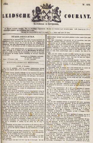 Leydse Courant 1882-11-18