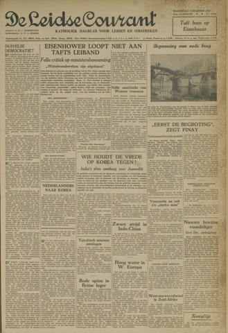 Leidse Courant 1952-12-03