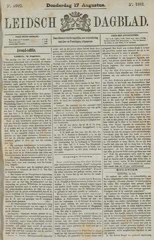 Leidsch Dagblad 1882-08-17