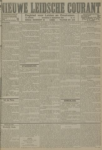 Nieuwe Leidsche Courant 1921-08-08