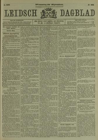 Leidsch Dagblad 1909-09-22