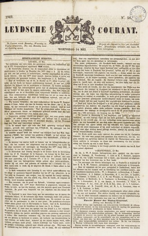 Leydse Courant 1862-05-14