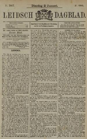 Leidsch Dagblad 1883