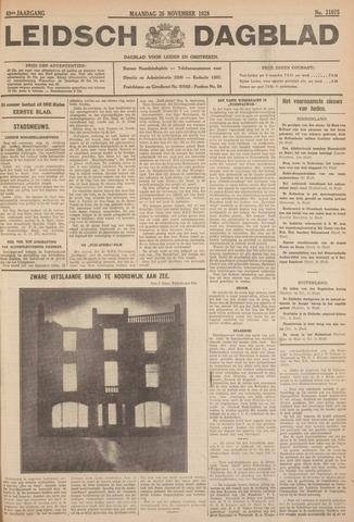 Leidsch Dagblad 1928-11-26