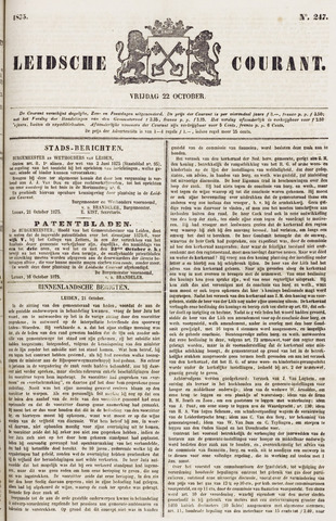 Leydse Courant 1875-10-22