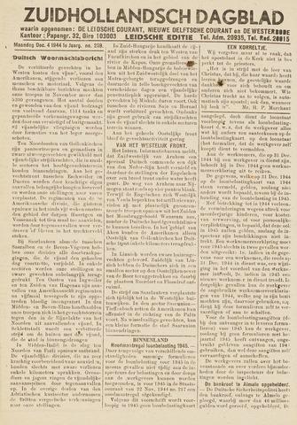 Zuidhollandsch Dagblad 1944-12-04