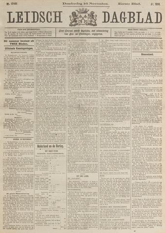 Leidsch Dagblad 1916-11-16