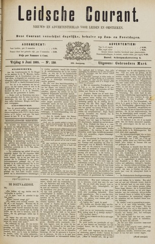 Leydse Courant 1885-06-05